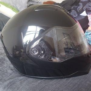 Motercylce helmet used once